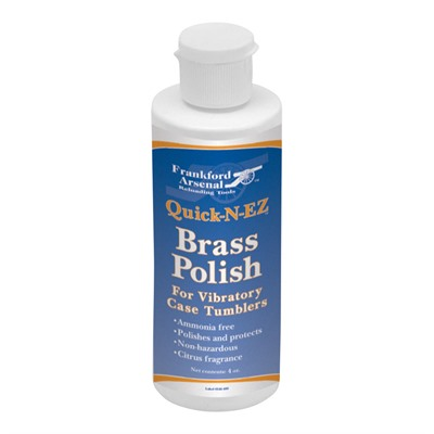 Frankford Arsenal Quick-N-Ez Brass Polish - Quick-N-Ez Brass Polish 32oz
