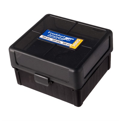 Frankford Arsenal Hinge-Top Ammo Box - 222 Rem, 223 Rem #1005 Hinge-Top Ammo Box 100 Ct.