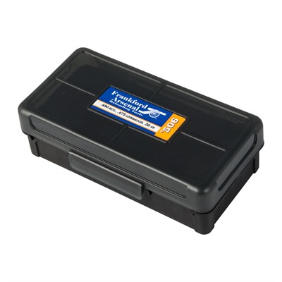 Frankford Arsenal Hinge-Top Ammo Box - 450 Ruger, 50 Ae #506 Hinge-Top Ammo Box 50 Ct.