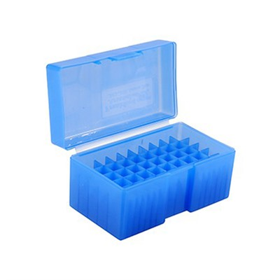 Frankford Arsenal Pistol Ammo Boxes - 40 S&W, 10mm, 45 Acp #508 Ammo Box 50 Ct. Blue