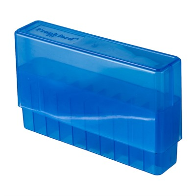 Frankford Arsenal Rifle Ammo Boxes - Belted Magnum #211 Ammo Box 20 Ct. Blue