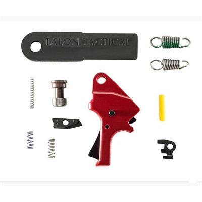 Apex Tactical Specialties Inc Smith & Wesson M&P M2.0 Red Flat Face Forward Set Trigger Kit - S&W M&P M2.0 Red Flat Face Forward Set Trigger Kit