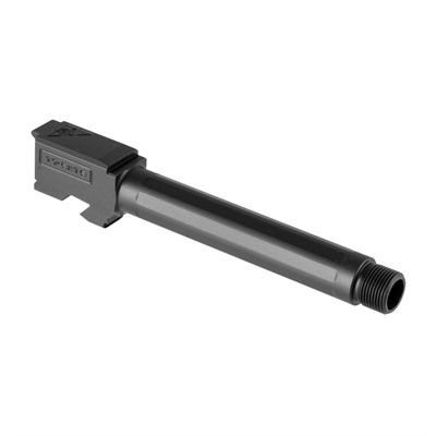 Tactical Kinetics Threaded Barrels For Glock - G17 Threaded Barrel, Fluted, Ss, Nitride, 9mm