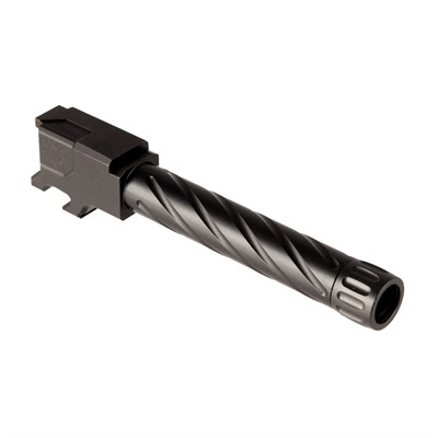 Primary Machine Match Grade Fluted Barrels For Cz P-10c - Match Grade Fluted Barrel, Threaded 1/2