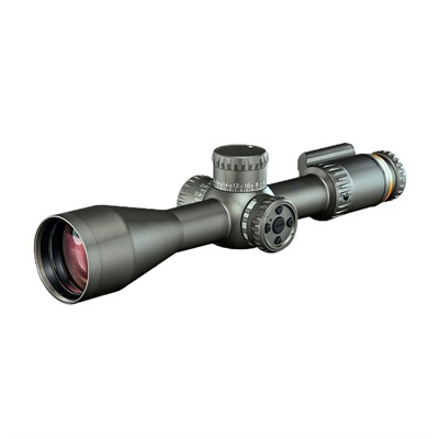 Revic Optics Pmr 428 4.5-28x56mm Smart Rifle Scope - 4.5-28x56mm Ffp Moa Rt1 Gray Left Hand