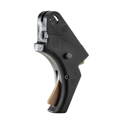 Apex Tactical Specialties Inc Smith & Wesson Sdve Polymer Action Enhancement Trigger - S&W Sdve Polymer Action Enhancement Trigger-Black/Fde