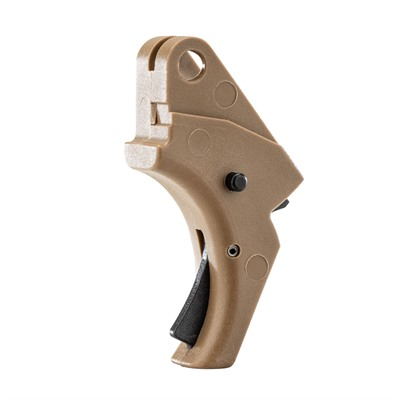 Apex Tactical Specialties Inc Smith & Wesson M&P Polymer Action Enhancement Trigger - S&W M&P Polymer Action Enhancement Trigger-Fde