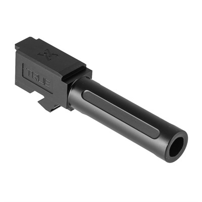 True Precision Standard Barrels For The Glock 26 - G26 Non-Threaded Barrel, Black Nitride, 9mm