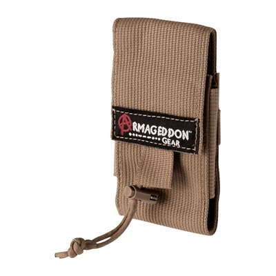 Armageddon Gear Adjustable Aics/Aw Mag Pouch - Aics/Aw Mag Pouch, Coyote Brown