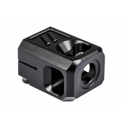 Zev Technologies Pro Compensator V2 For Glock - Pro Compensator V2 13.5x1 Lh Threads 9mm Black