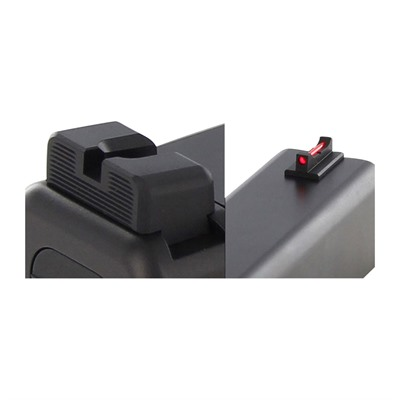 Dawson Precision Mos Non Co-Witness Fixed Sight Set For Glock Gen 5 - Mos Non Co-Witness Fixed Sight Set For Glock Gen 5 G34
