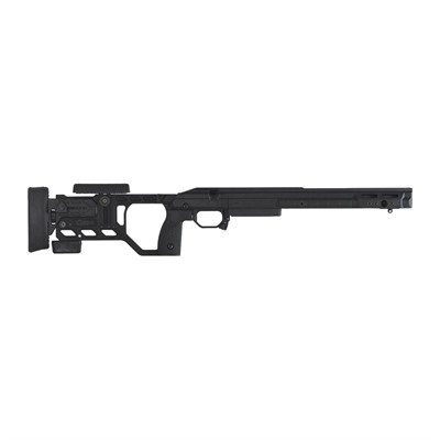 Kinetic Research Group Whiskey 3 Remington 700 Chassis - Remington 700 Sa Fixed Stock Black