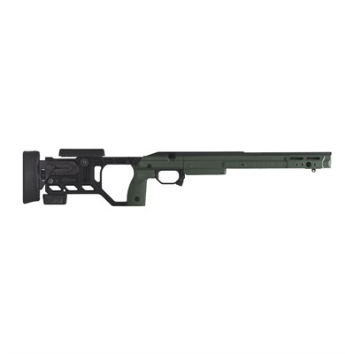 Kinetic Research Group Whiskey 3 Remington 700 Chassis - Remington 700 Sa Fixed Stock Sako Green