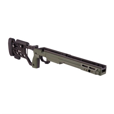 Kinetic Research Group Whiskey 3 Remington 700 Chassis - Remington 700 Sa Folding Stock Sako Green