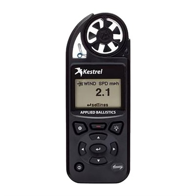 Kestrel 5700 Elite Meter With Applied Ballistics & Link - 5700 Elite With Applied Ballistics & Link, Black