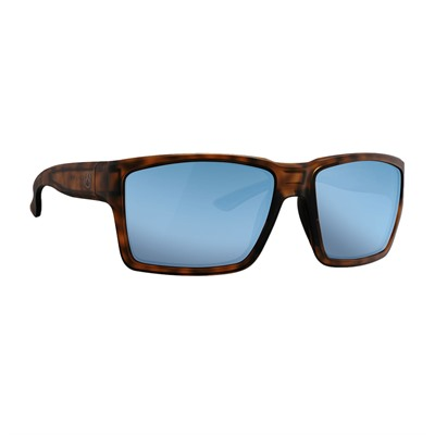 Magpul Explorer Xl Sunglasses - Explorer Xl Tortoise Frame W/ Bronze Lens & Blue Mirror