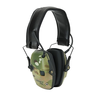 Howard Leight Impact Sport Electronic Earmuffs - Impact Sport Electronic Earmuffs Multicam