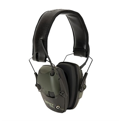 Howard Leight Impact Sport Electronic Earmuffs - Impact Sport Electronic Earmuffs Multicam Black