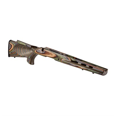 Boyds Ruger American Sa Featherweight Thumbhole Stock - Featherweight Thumbhole Stock Lamninate Forest Camo