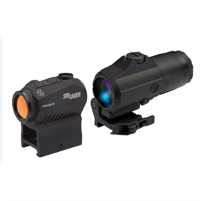 Sig Sauer Romeo5 Red Dot Sight With Juliet3 Magnifier - Romeo5 Red Dot W/Juliet 3 3x Magnifier