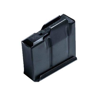 Modular Driven Technologies Short Action Metal Magazines - 5 Round Binder Plate Steel Magazine, Black
