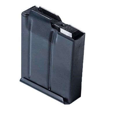 Modular Driven Technologies Short Action Metal Magazines - 10 Round Binder Plate Steel Magazine, Black