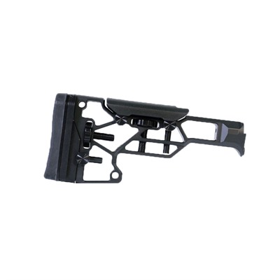 Modular Driven Technologies V5 Skeleton Rifle Stocks - V5 Skelelton Rifle Stock Black