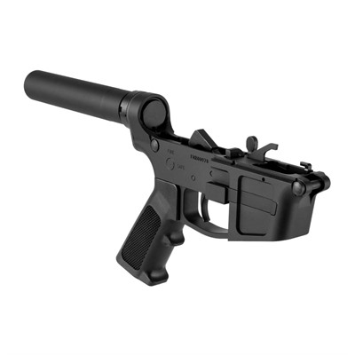 Foxtrot Mike Products Ar-15 Fm-9 Complete Billet Pistol Lower Receiver - Ar-15 Fm-9 Complete Pistol Lower Receiver