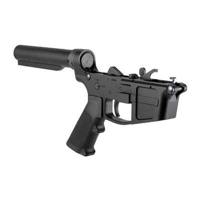 Foxtrot Mike Products Ar-15 Fm-9 Complete Billet Rifle Lower Receiver - Ar-15 Fm-9 Complete Rifle Lower Receiver