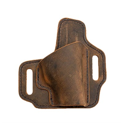 Muddy River Tactical Owb Water Buffalo Leather Holster - S&W J-Frame Revolver Leather Owb Holster