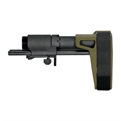 Sb Pdw Adjustable Pistol Stabilizing Brace - Sb Pdw Adjustable Pistol Stabilizing Brace Od Green