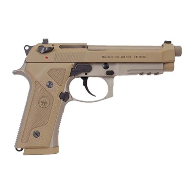Beretta Usa M9a3 9mm Decocker Only, Threaded Barrel - M9a3 9mm Fde 10+1 Threaded