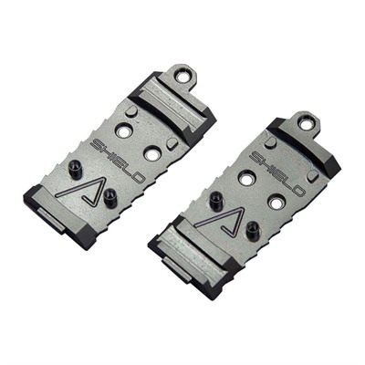 Agency Optic System Plates - Aos Plate For Shield Rms, Rear Dovetail