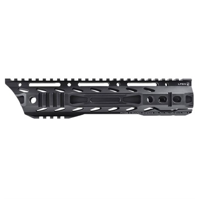 Phase 5 Tactical Ar-15 Lo-Pro Slope Nose Free Float Quad Rails - 10.5  Lo-Pro Slope Nose Free Float Quad Rail Black