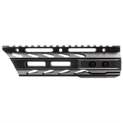 Phase 5 Tactical Ar-15 Lo-Pro Slope Nose Free Float Quad Rails - 7.5 In  Lo-Pro Slope Nose Free Float Quad Rail With M-Lok Bl