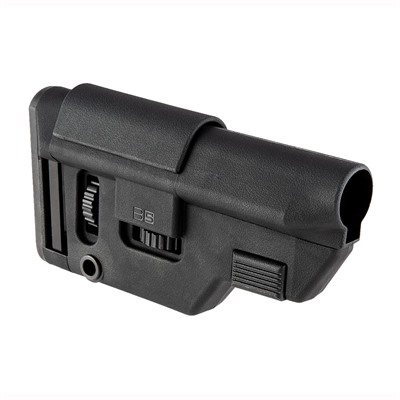 B5 Systems 308 Collapsible Precision Stocks - Collapsible Precision Stock 308 Black