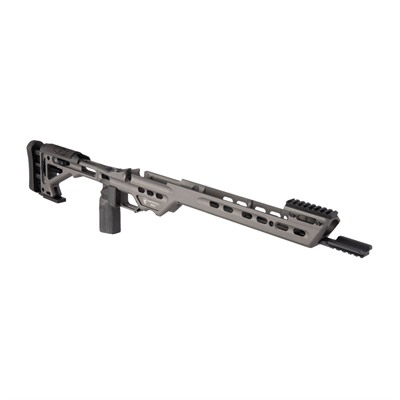 Masterpiece Arms Ba Competition Tikka T3x Chassis - Tikka T3x Sa Right Hand, Tungsten