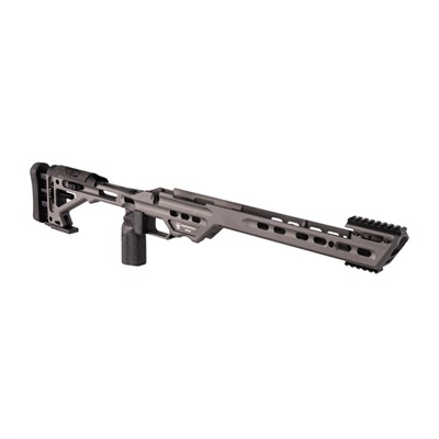 Masterpiece Arms Ba Tikka T3x Chassis - Tikka T3x Sa Right Hand, Tungsten