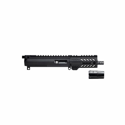 Angstadt Arms Complete Upper Receiver Assemblies 9mm - 4.5   Complete Upper Receiver 9mm Black