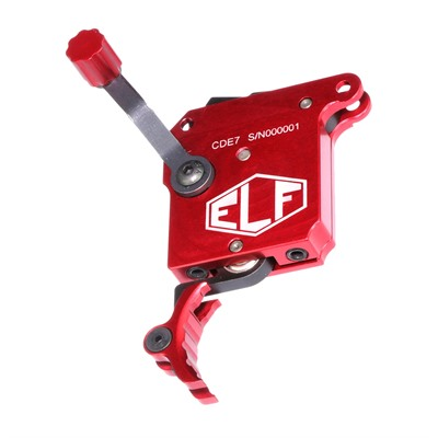 Elftmann Remington 700 Precision Triggers - Precision Trigger W/Safety & Internal Bolt Release Red