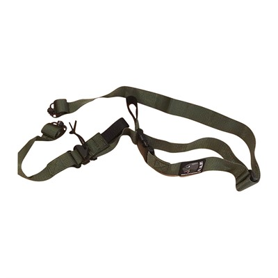 Short Action Precision Inc Positional Rifle Sling - Od Green Positional Rifle Sling