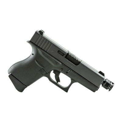 Griffin Armament Subcompact Micro Carry Compensator 9mm 1/2-28 - Micro Carry Comp For Glock42/43 1/2-28 Black