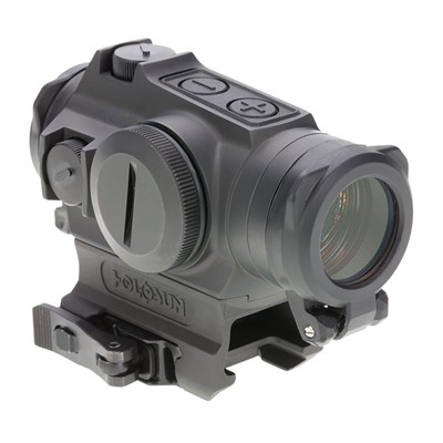 Holosun He515gt Elite Reflex Sight With Qd Mount - He515gt-Gr Elite Green Circle Dot With Qd Mount