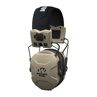 Walkers Game Ear Xcel 100 Digital Electronic Muff W/Voice Clarity - Xcel 100 Electronic Muff W/Voice Clarity