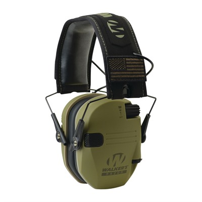 Walkers Game Ear Razor Patriot Series - Razor Patriot Series-Od Green