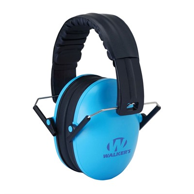 Walkers Game Ear Baby & Kid's Folding Earmuffs - Baby & Kid's Earmuffs-Blue