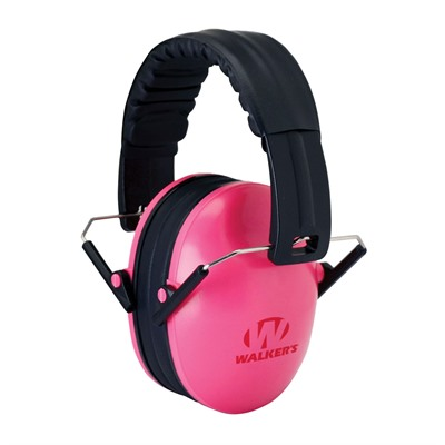Walkers Game Ear Baby & Kid's Folding Earmuffs - Baby & Kid's Earmuffs-Pink