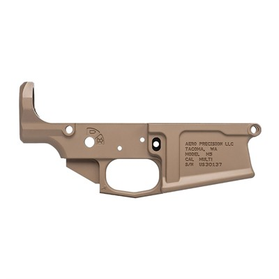 Aero Precision 308 Ar M5 Lower Receiver - Ar 308 M5 Lower Receiver Stripped Fde