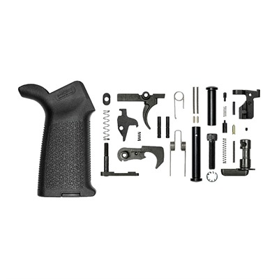 Aero Precision Ar 308 M5 Lower Parts Kits W/ Moe Grip - Ar 308 M5 Lower Parts Kit W/ Moe Grip Black