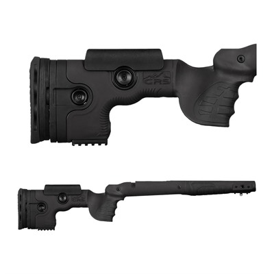Grs Riflestocks Savage 16 Sa Grs Bifrost Stock - Savage 16 Sa Bifrost Stock, Bottom Bolt Release, Black
